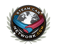 Steam Car Network Logo