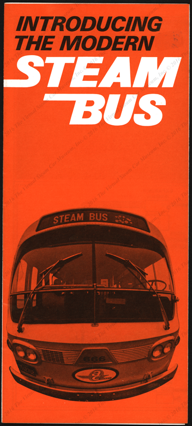 A. C. Transit Steam Bus Brochure, Oakland, CA, ca: 1970