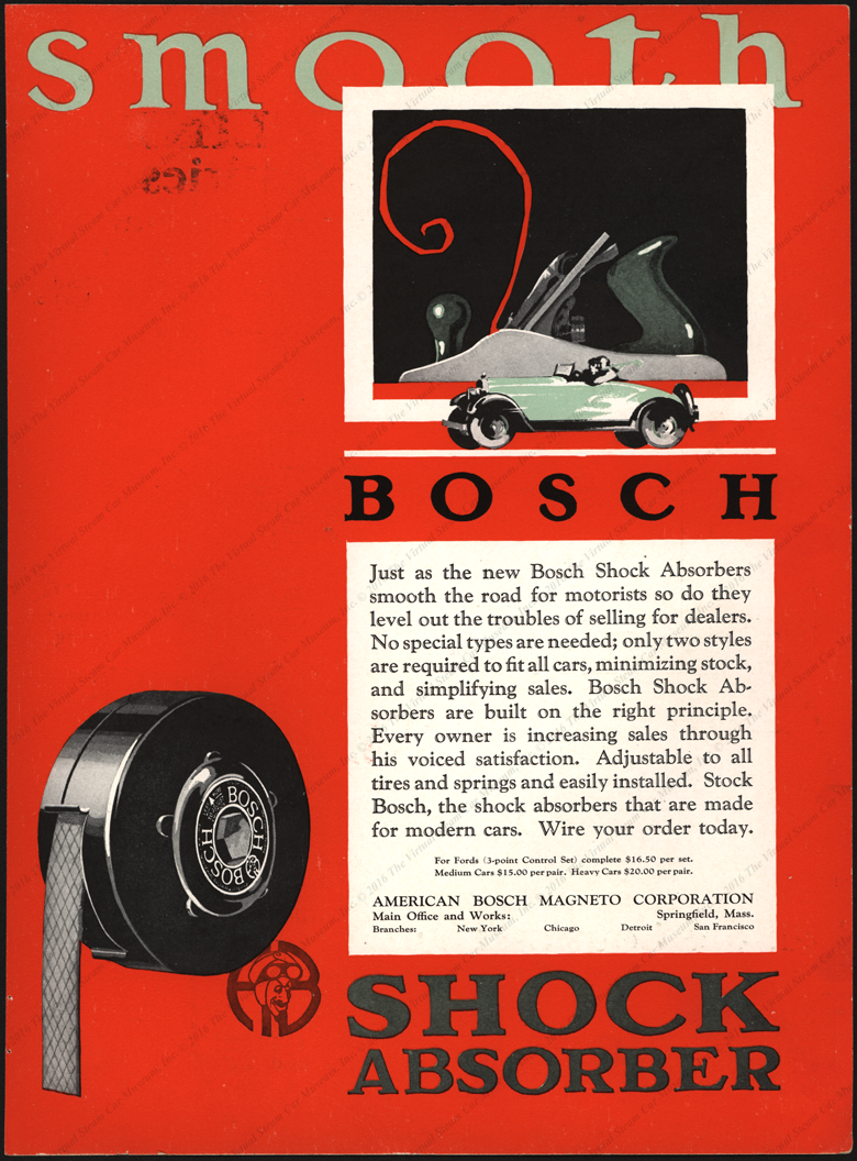 American Bosch Magneto Corporation, October 14, 1926, Profit Makers Flyer Front