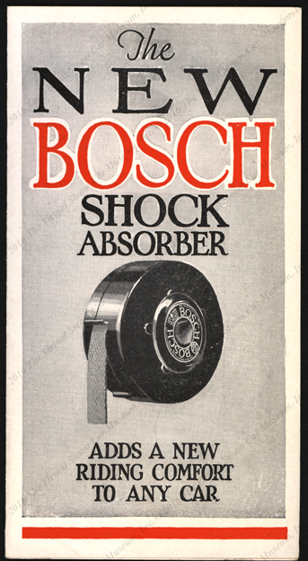 American Bosch Magneto Corporation, June 1927 Shock Absorber/Snubber Trade Catalogue