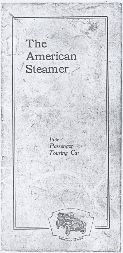 American Steam Truck Company, 1922 Trade Catallgue, Photocopy, Conde Collection