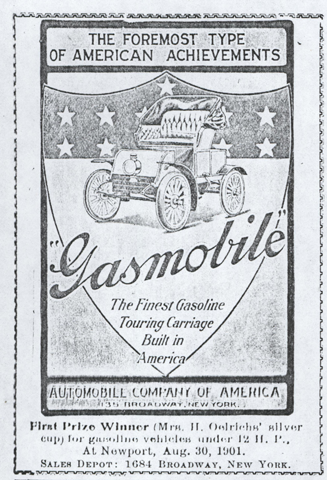Automobile Company of America, Conde Collection, Automobile Topics, January 18, 1902, Photocopy, Conde Collection
