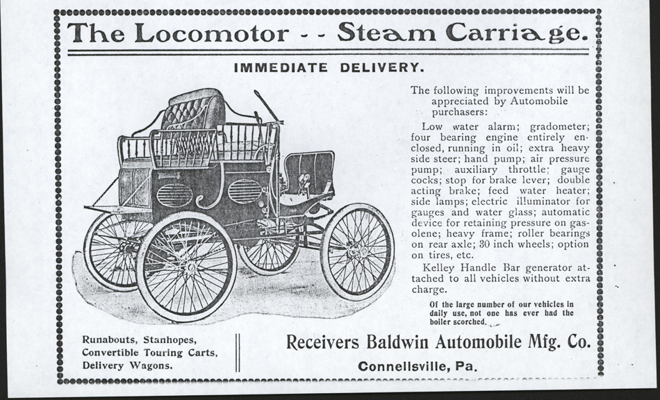 Baldwin   Automobile Manufacturing Company, Locomotor Steam Carriage, The Automobile Reivew, p. 4, August 1904
