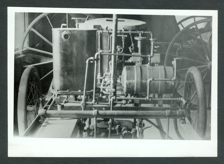 bosworth_steamer Photograph