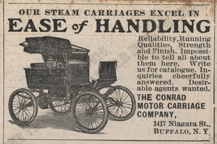 Contad Motor Carriage Company, May 17, 1902 Scientific American.