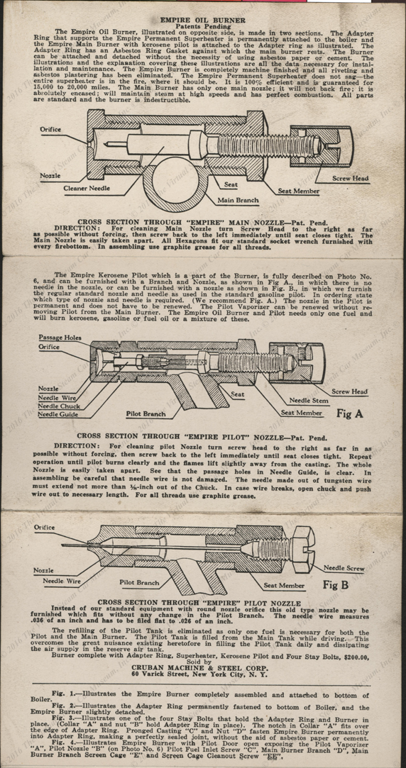 Cruban Machine & Steel Corporation, May  12, 1924, six-fold brochure, pp.  07 - 09
