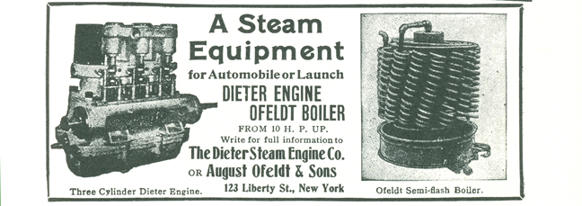 Dieter Steam Engine Company Advertisement, Clymer, p. 71