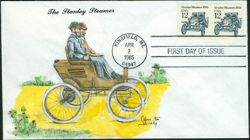 12 Cent Stanley First Day Cover Karen Sabinsky