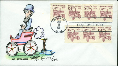 1991 Stanley on first day cover SPAZ  103 of 103