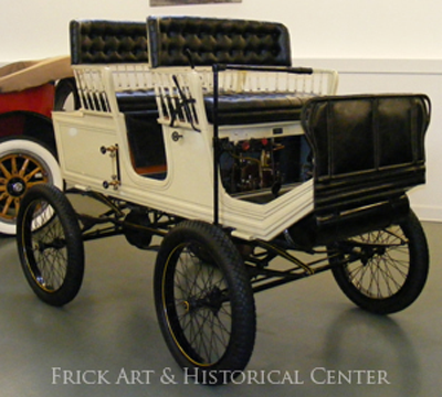 Foster-Artzberger Steam Car, Frick Art & History Center, Pittsburgh, PA