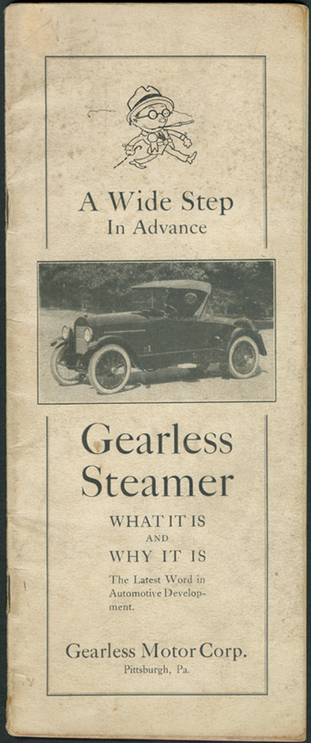 Gearless Motor Corporation Trade Catalogue, January 1922