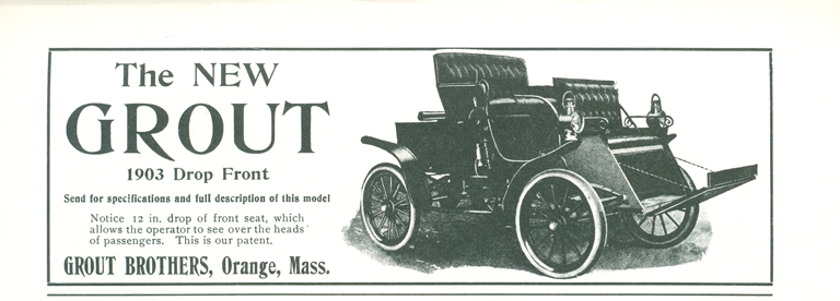 Grout Bros, Clymer p. 61, unidentified advertisement