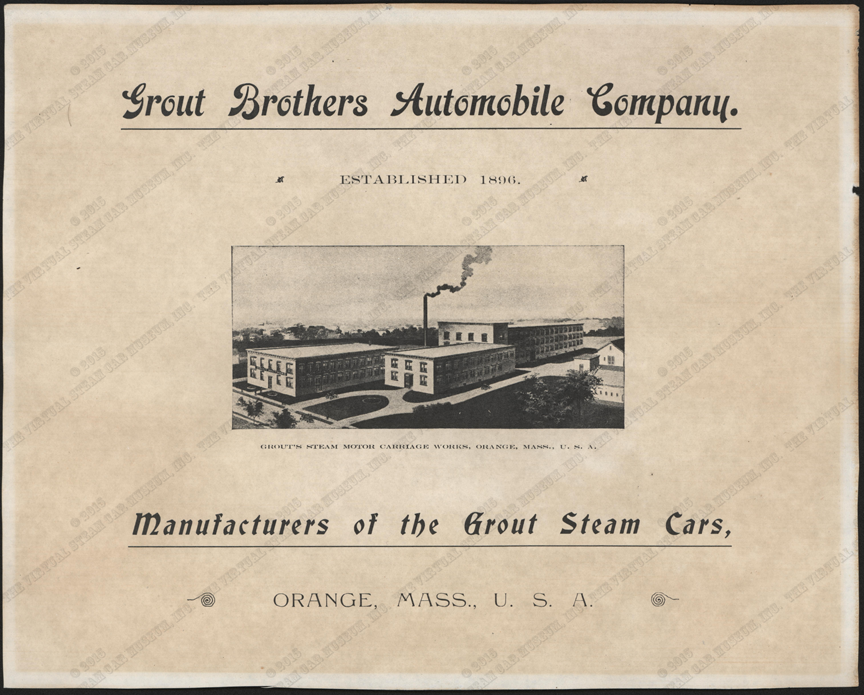 Photocopy, The Grout Brothers Automobile Company