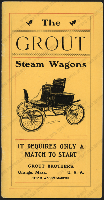 Grout Brothers Trade Catalogue, 1901,