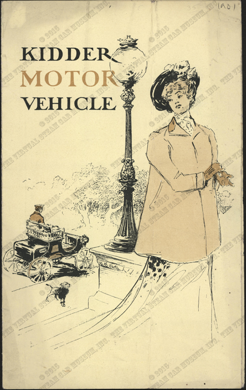 Kidder Motor Vehicle Company, 1901 Trade Catalogue, Conde Collection.