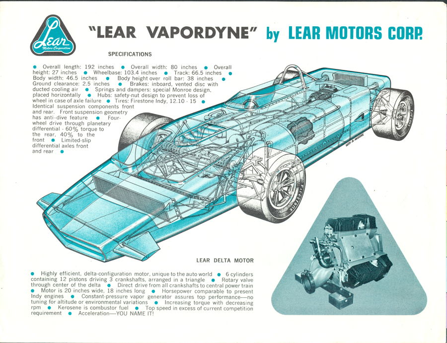 Lear  Motors Corporation Flyer