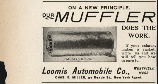 Loomis Automobile Company, Horseless Age Magazine Advertisement, September 4, 1901
