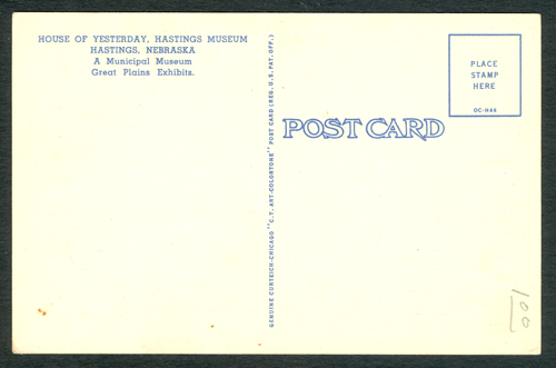 Milwaukee Automobile Company, Albert M. Brooking, Postcard, Reverse