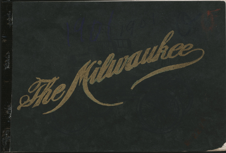 Milwaukee Aubomobile Company, 1901 Trade Catalogue, Conde Collection.