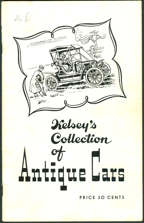 Kelsey's Collection of Antique Cars, Camdenton, MO, April 1955