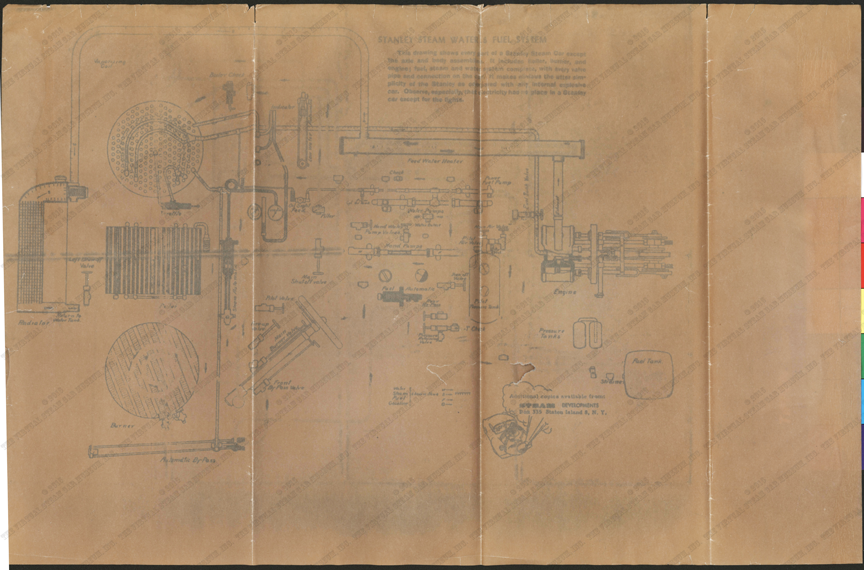 Mershon Patent Shaking Grate Works Brochure, G. W. Nichols Collection, Reverse.