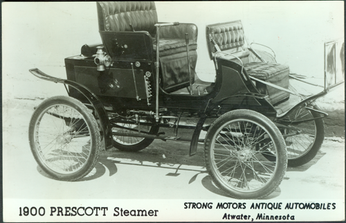 Prescott Automobile Manufacturing Co, Strong Motors Antique Automobiles, Atwater, Minnesota