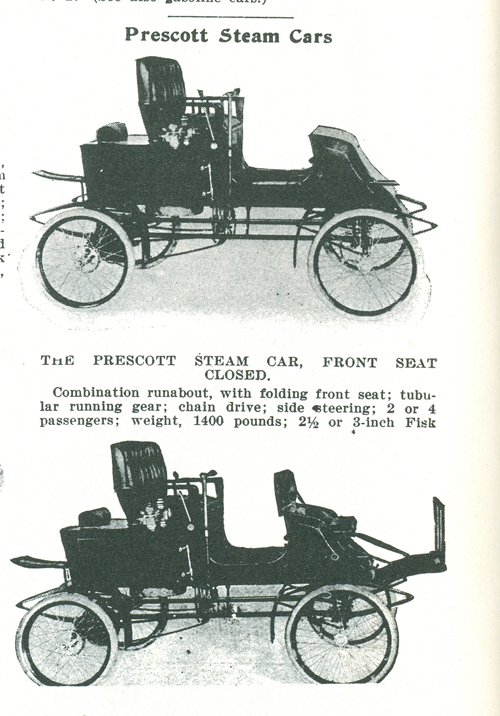 Prescott Automobile Manufacturing Co, Floyd Clymer p. 48