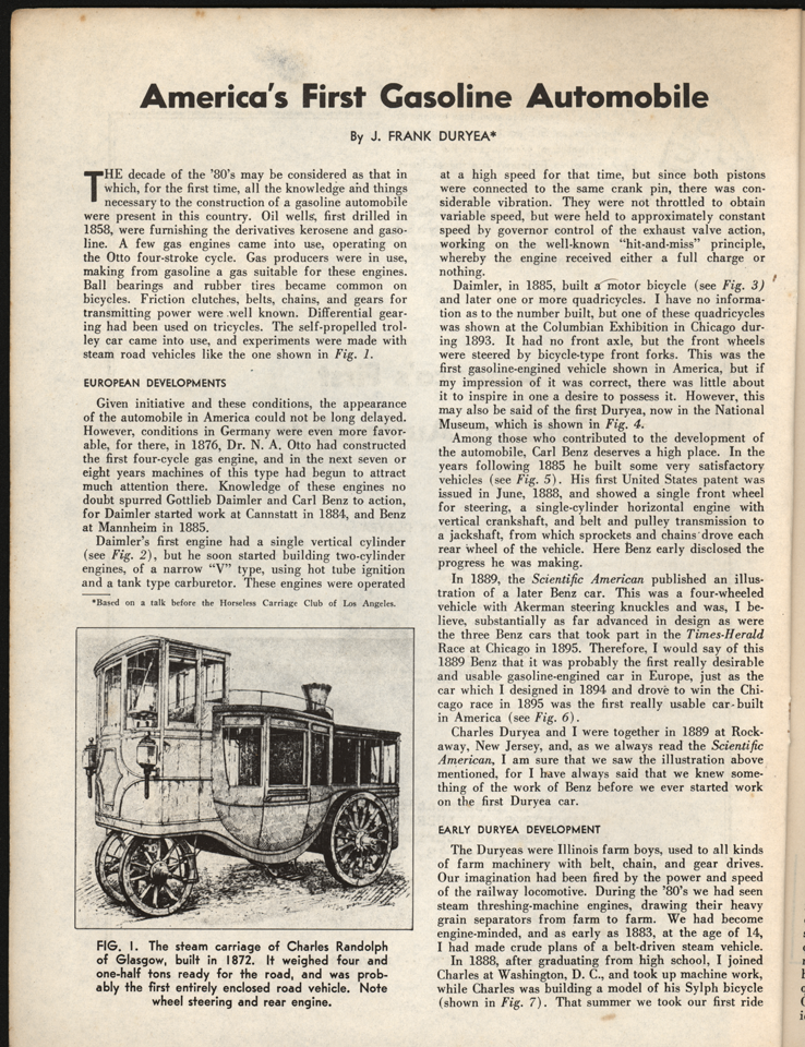 Frank Randolph Stam Carriage Note