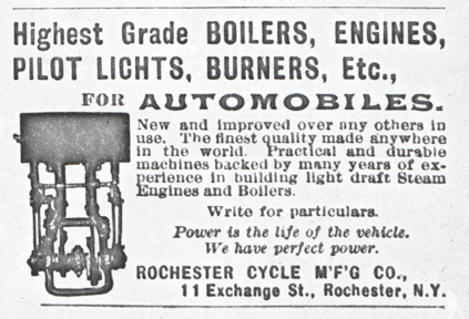 Rochester Cycle Manufacturing Company, 1901, Conde Collection Photocopy