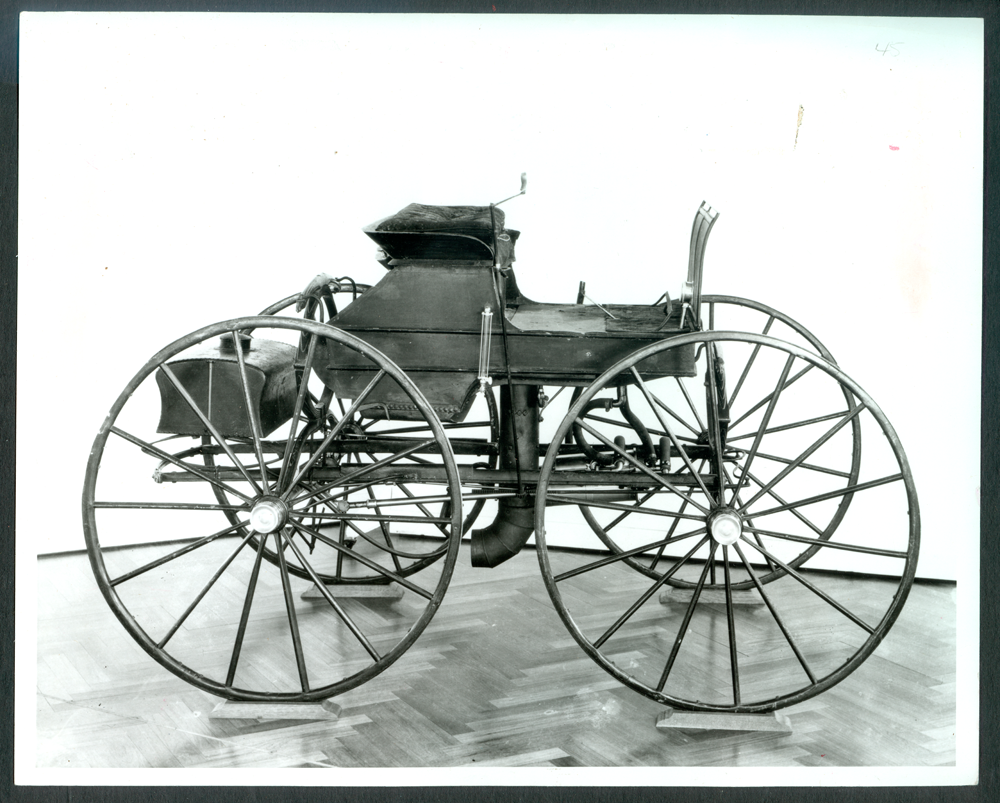 Sylvester Roper Steam Carriage, 1865, Henry Ford Museum Photograph, Front