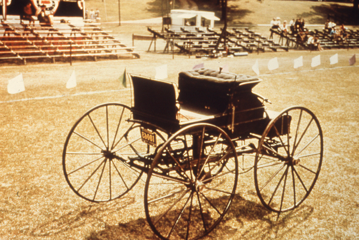 Roper Steam  Carriage, Greenfield Village Color Slide