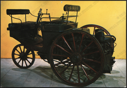 Serpollet Tricycle, 1888, Musee National Des Techniques, Modern Postcard Front