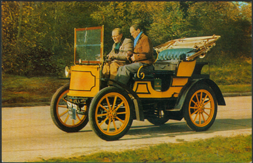 1900  Gardner-Serpollet 5 hp car under steam