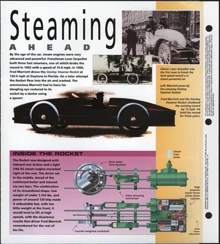 The International Masters Publishers printed 1998 Collector Sheet as part of its Hot Cars series p. 3
