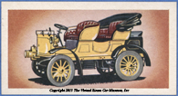 Ching & Company cigarette card, 1902 Serpollet, Front