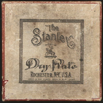 Stanley Dry Plate Company box, Rochester, NY. ca: 1904 - 1910 3 1/2 x 3 1/2, unopened