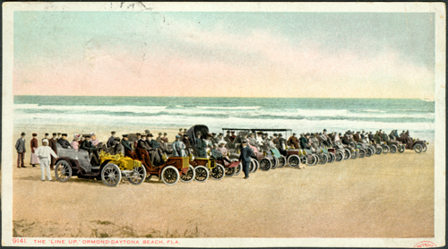 The Line Up on Ormond Beach