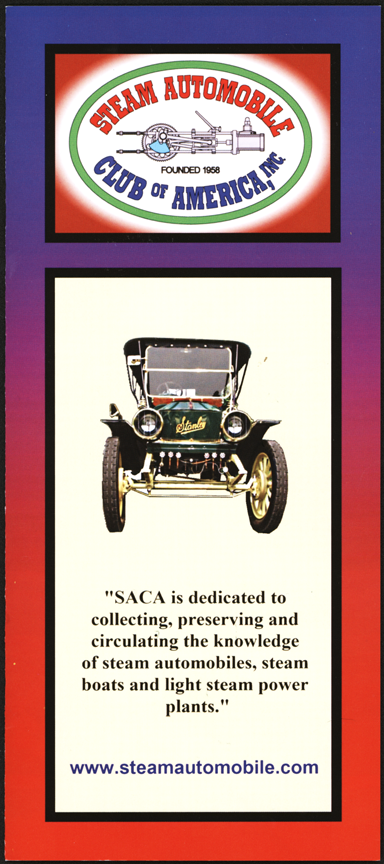 Steam Automobile Club of America Brochure 2017