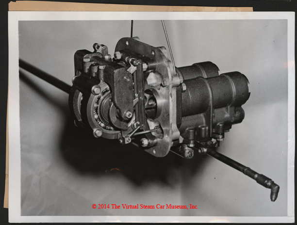 Steam Motors, Inc. Erik Delling, Newton, MA, June 1938, Two Cylinder Engine, Front