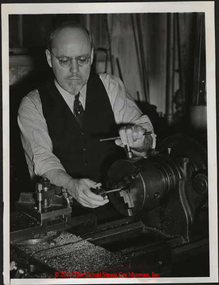Steam Motors, Inc. Erik Delling, Newton, MA, June 1938, Front