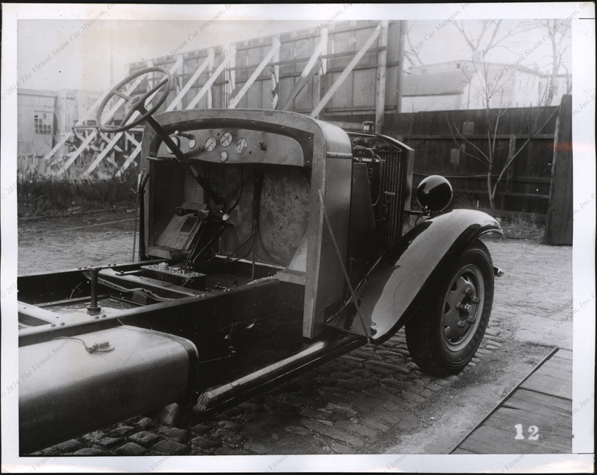 Steam Motors, Inc. Press Photograph, June 1, 1938, Two Ton Truck, Front