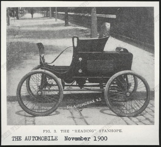 Steam Vehicle Company of America, November 1900, The Automobile Magazine, Conde Collection.
