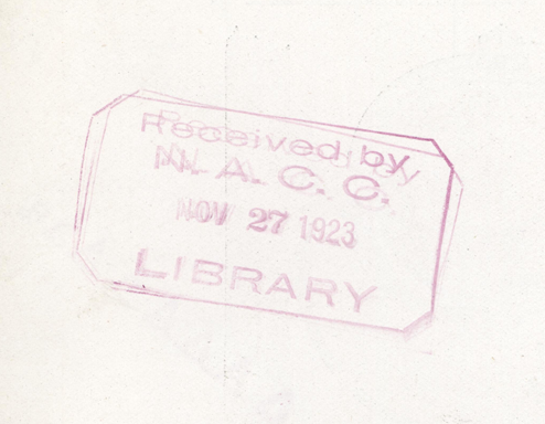 Cooper-Stewart Engineering Company, Ltd., November 10, 1923, Searchlight Borchure, Reverse